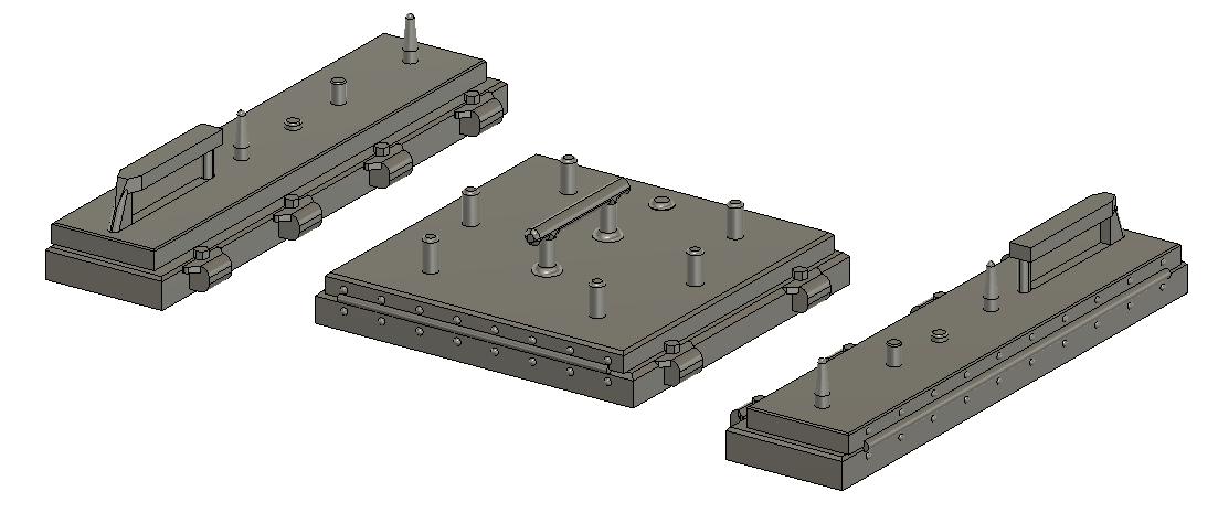 HO Scale Train Parts - LinkUp Small 3 Piece PTC (Qty 1)