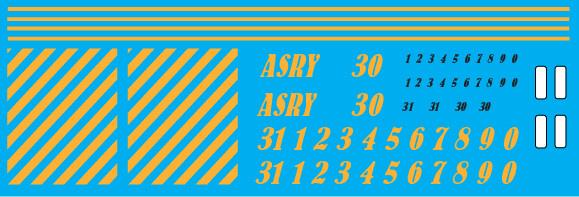 Ashland Railway (ASRY) ex AVR Locomotive