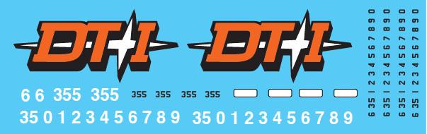 HO Scale - Detroit Toledo & Ironton (DTI) GP35 #335 Star Logo