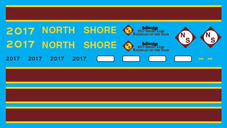 North Shore 2017 Railway Age Award Locomotive