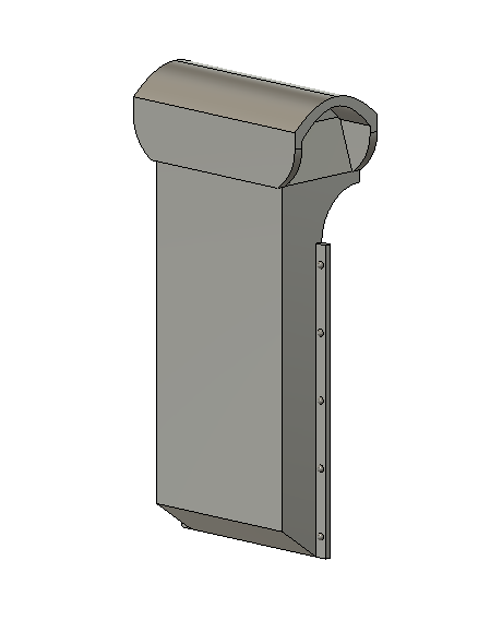 N Scale Detail Parts - Watchman Heater Vent (Qty 2)