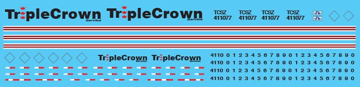 Semi-Trailer Triple Crown exAmtrak