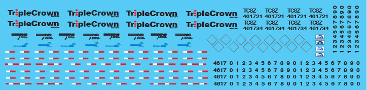 Semi-Trailer Triple Crown Small Logo