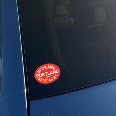 Vinyl Sticker - Spokane Portland Seattle Logo