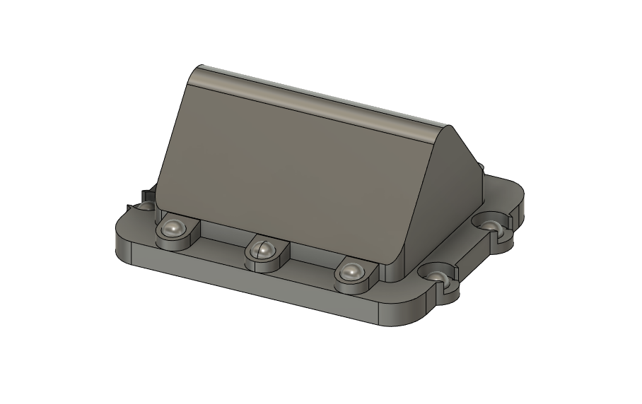 N Scale Train Parts - Lat-Lon Solar Tracking Unit (Qty 4)