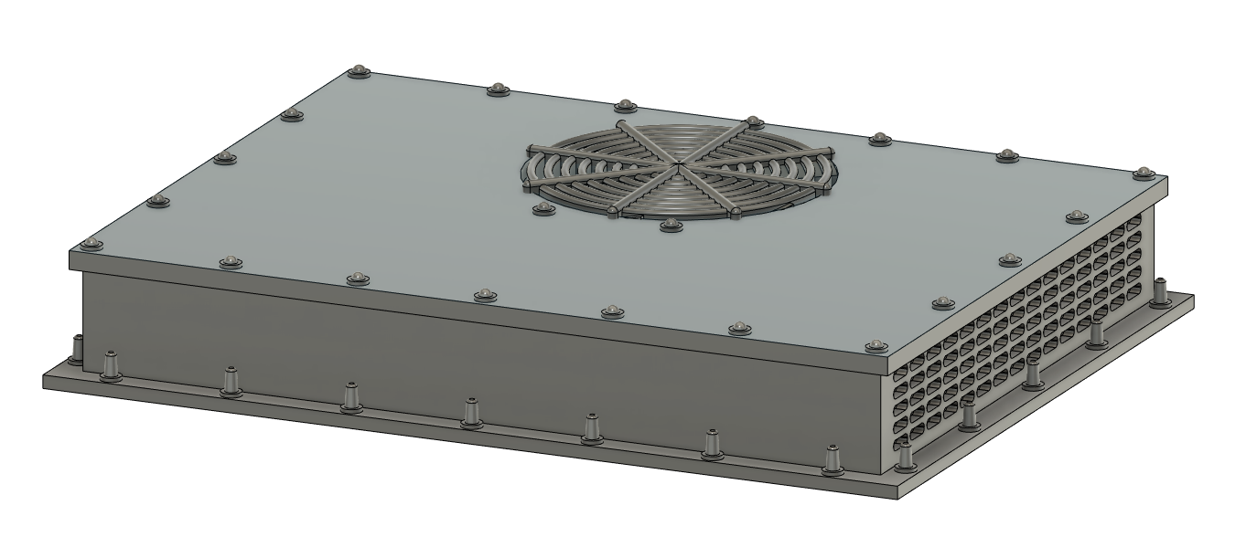 N Scale Train Parts - Low Profile AC Unit (Qty 2)