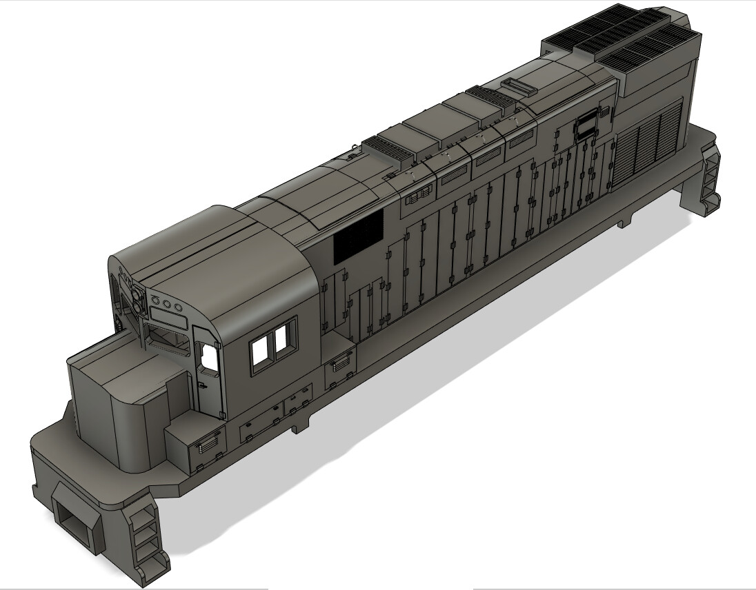N Scale Alco C424 Locomotive Shell
