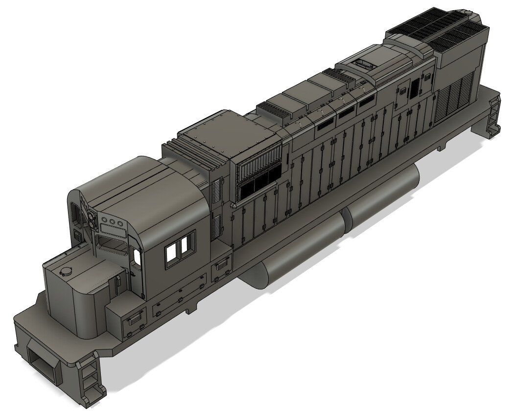 N Scale Alco C430 Locomotive Shell