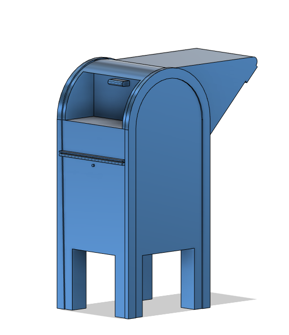 N Scale Detail Parts - Drive Up Mailbox (Qty 2)