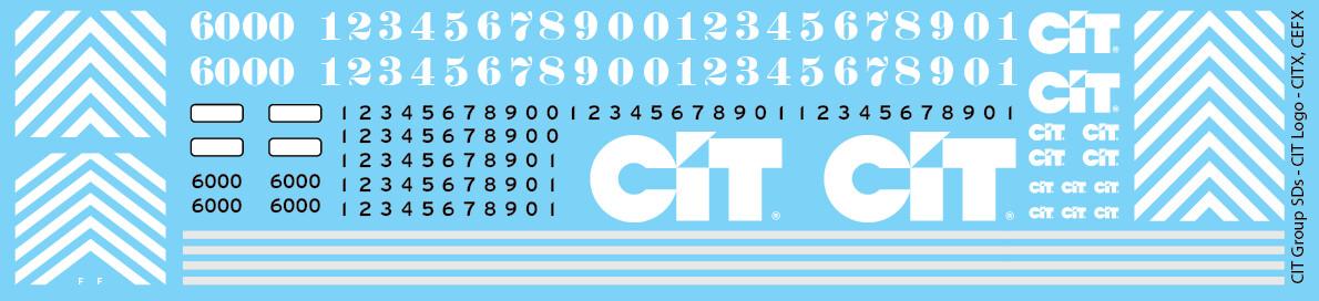 CIT Group SDs CIT Logo Decals