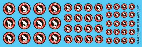 Great Northern Logo Decal Set