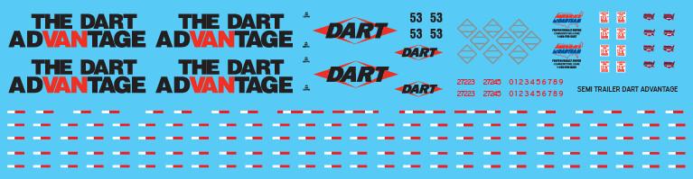 Semi-Trailer Dart Advantage