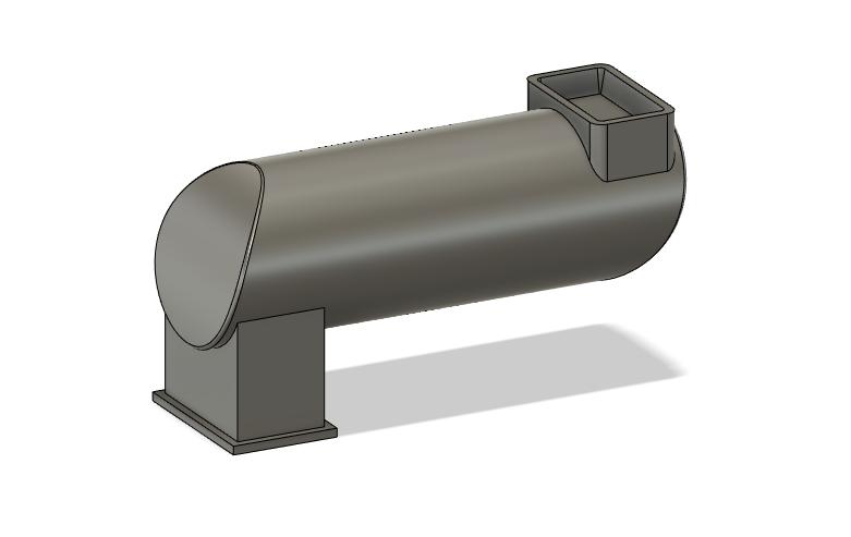 N Scale Detail Parts - MILW Spark Arrestor GP/F Units (Qty 2)