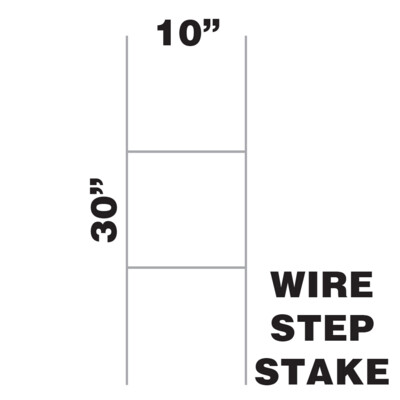 Wire Step Stake