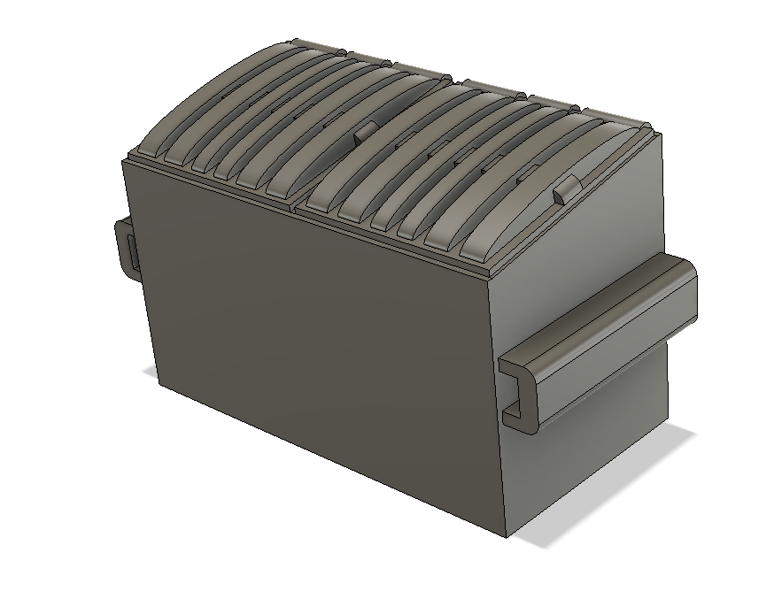Detail Parts - Dumpster 2 Yard (Qty 2)