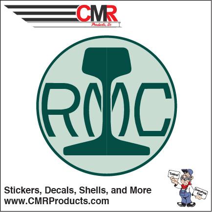 Vinyl Round Portec RMC Logo