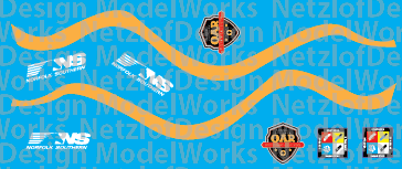 N Scale - NS Operation Awareness (OAR) program Tanktainers Decals