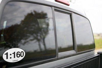 Vinyl Sticker - 1:160 N Scale