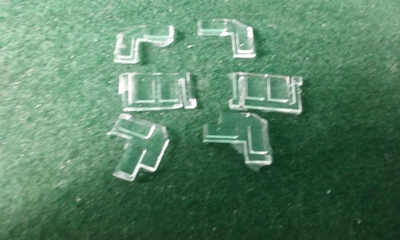 HO Scale Detail Part - 3GS21C Genset Cab Glass Set