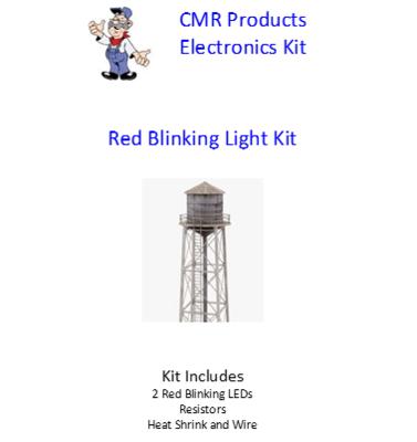 LED Kit - Red Blinking Tower Kit