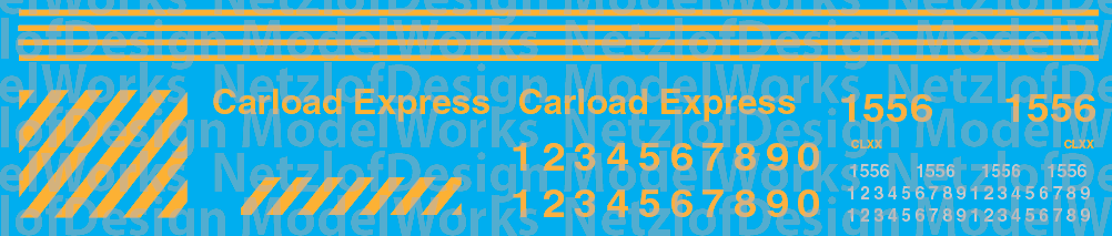 Carload Express Switchers Decal Set (CLXX)
