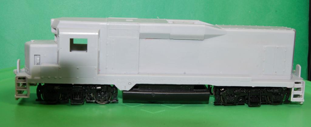 GP30 Road Slug Engine Shell, HO Scale Trains, by Puttman Locomotive Works