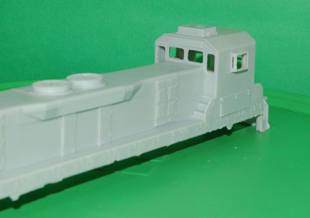 TEBC6 BN Slug w/ DB Engine Shell, HO Scale Trains, by Puttman Locomotive Works