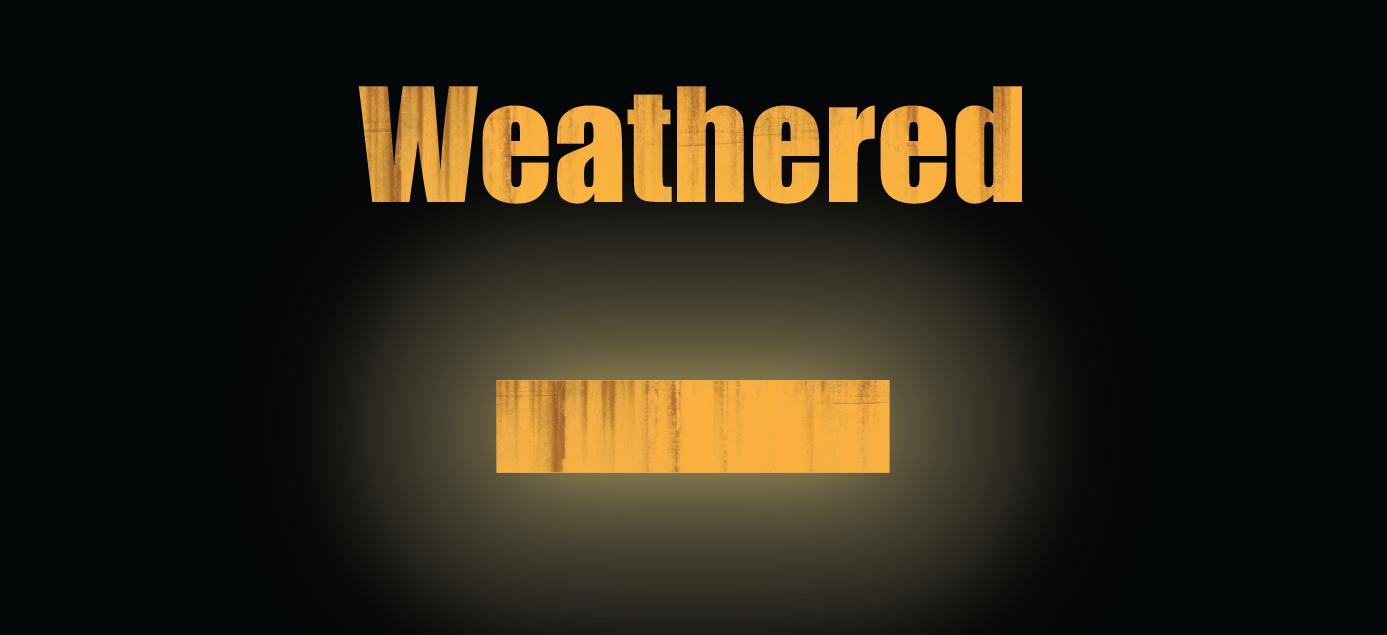 Weathered FRA Reflective Blocks - White (HO,S,O)