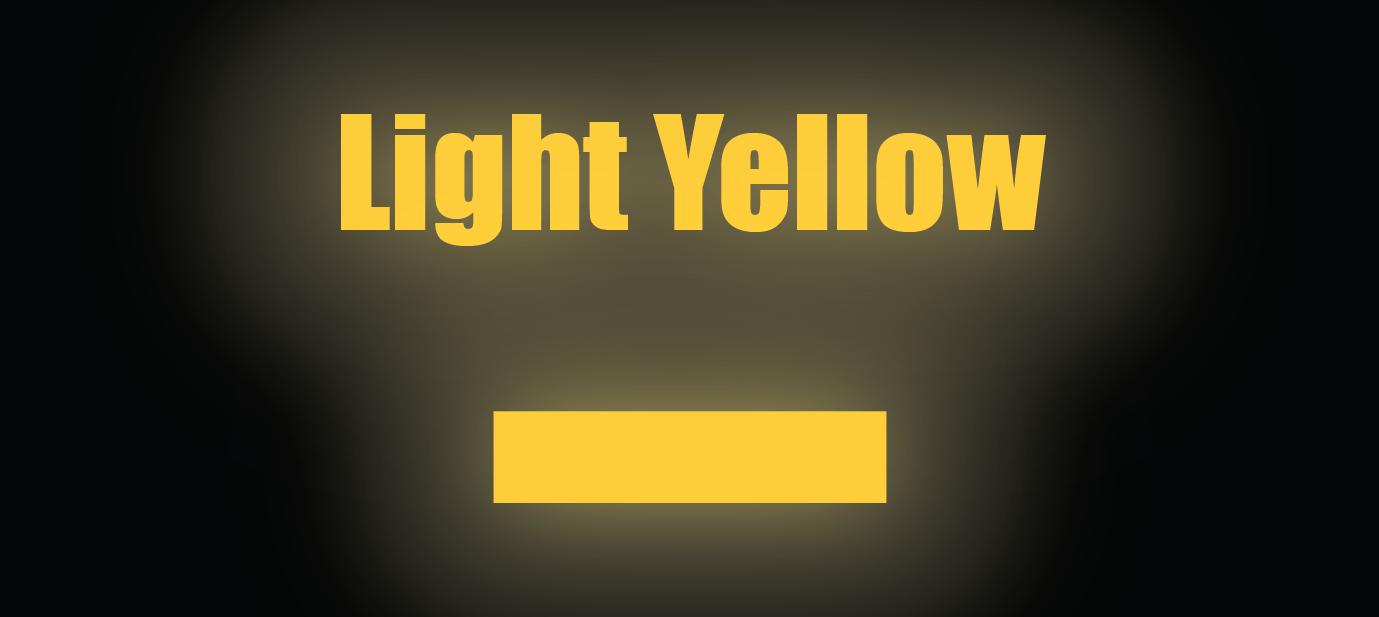 "Reflective Striping - 4"" Light Yellow Reflective (HO,S,O)"