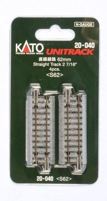 Kato Unitrack Straight 62mm Package