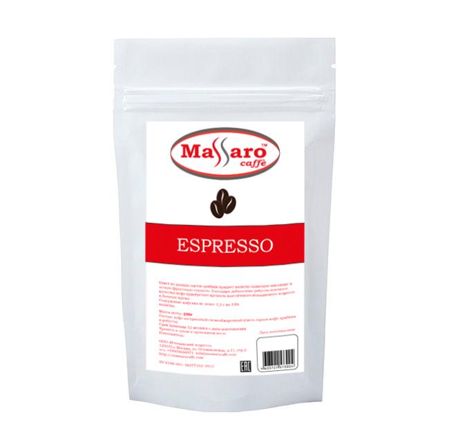 Кофе в зернах Massaro Espresso