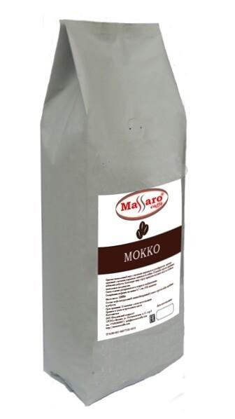 Кофе в зернах Massaro МОККО