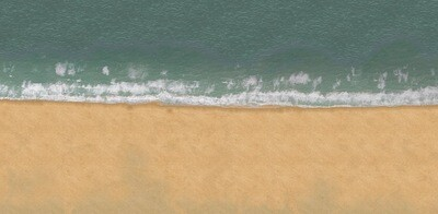 Beach 6x4 Cloth