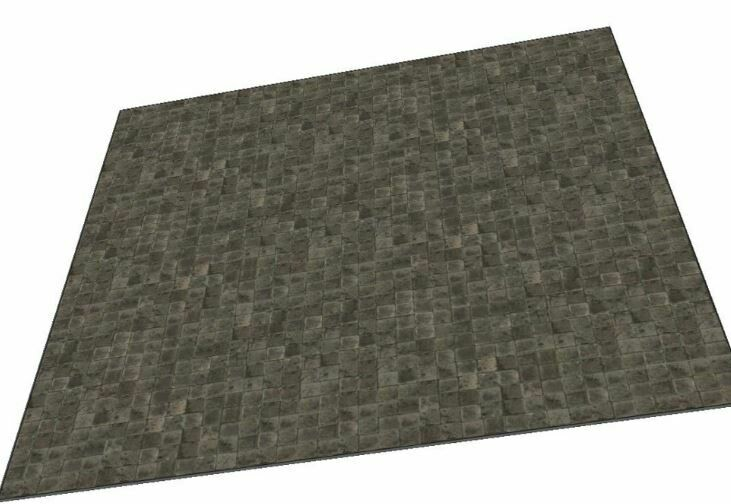 Dungeon 3x3 cloth