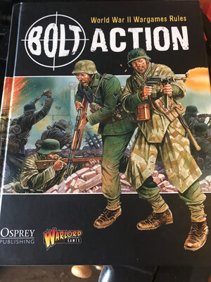 Bolt Action Rule Book Hardcover