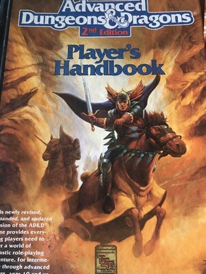 Advanced Dungeon And Dragons Book