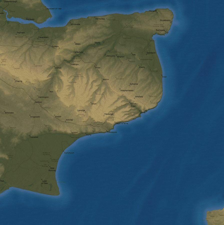 Battle of Britain aerial 3x3 cloth