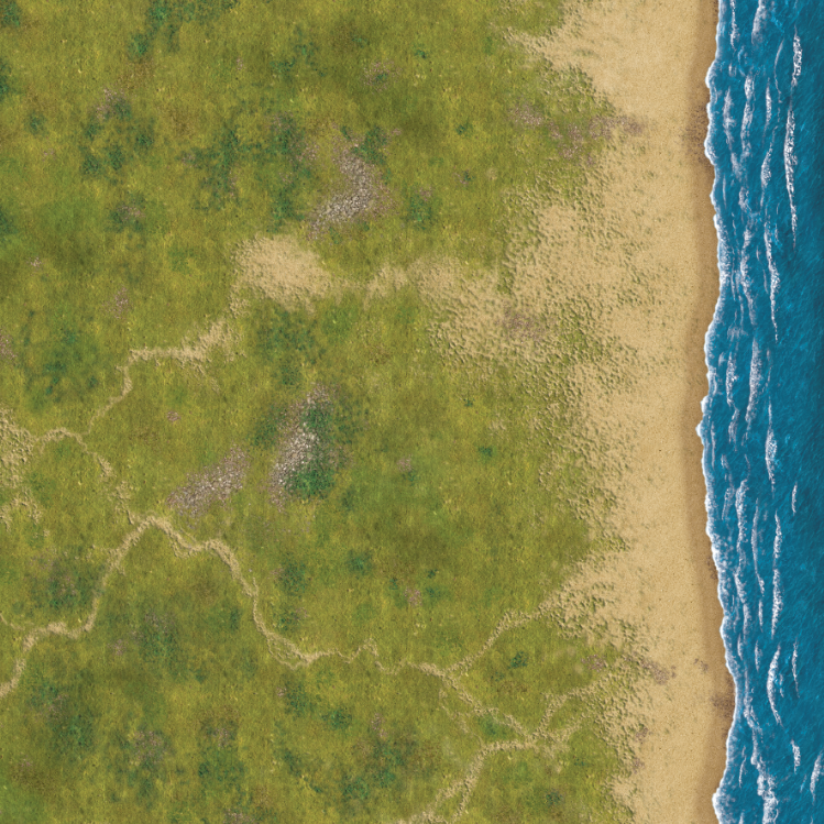 South Pacific Coast 4x4 cloth