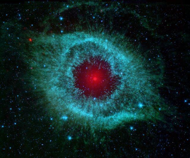 Red nebula space 3x3