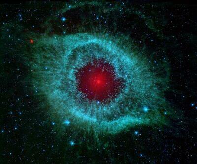 Red nebula space 4x4