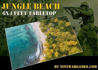 Jungle Beach 6x4
