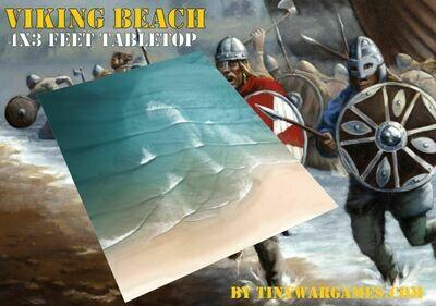 4x3 feet viking beach coastal mat