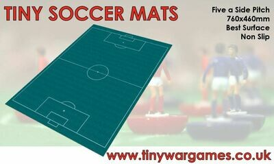 5 a side football pitch VELOUR  600X400MM