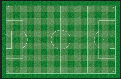 Checker Pitch velour 145x95cm