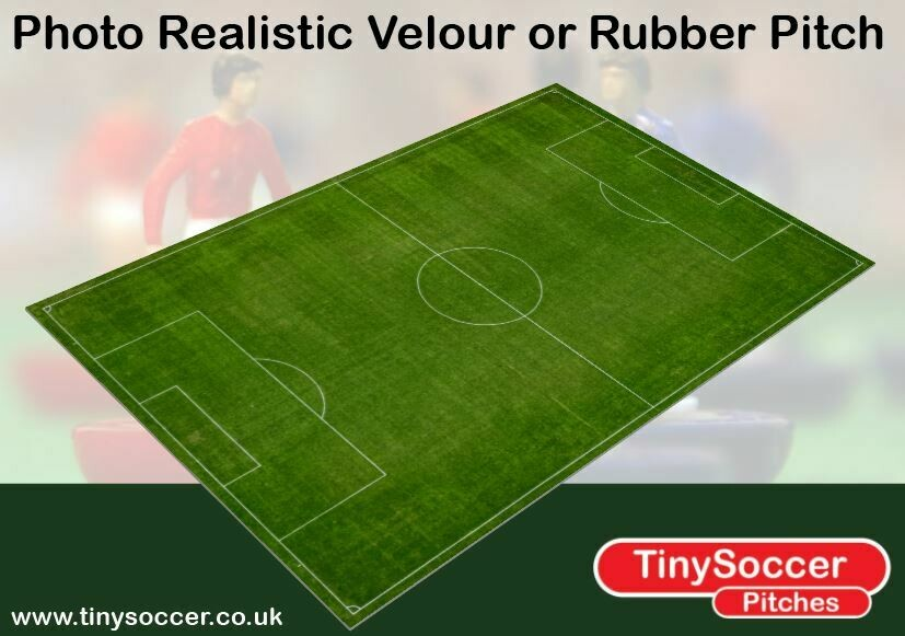 Photo Realistic Football Pitch velour 800 x 533mm