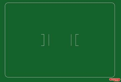 Tiny - Cricket pitch 870x1300mm