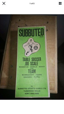 Subbuteo West Ham Team