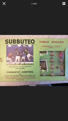 Subbuteo Table Football Boxed