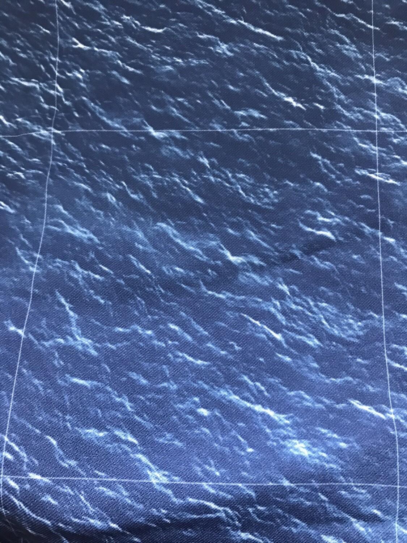 Sea Cloth 56x90 Inches 6 Inch Squares