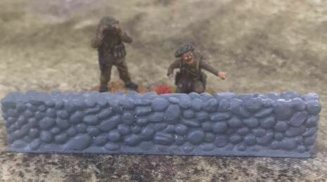 28mm Stone wall terrain